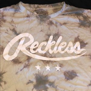 YOUNG & RECKLESS t-shirt.